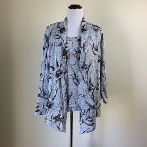 Alfred Dunner Twofer Top. Size 2X